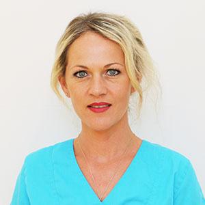 Lilia Brudel ist Angestellte in der Zahnarztpraxis Kümmel in Mutlangen