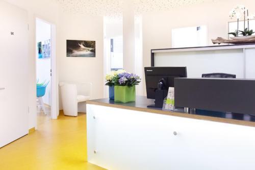 Einblick in die Zahnarztpraxis Dr. Kümmel in Mutlangen